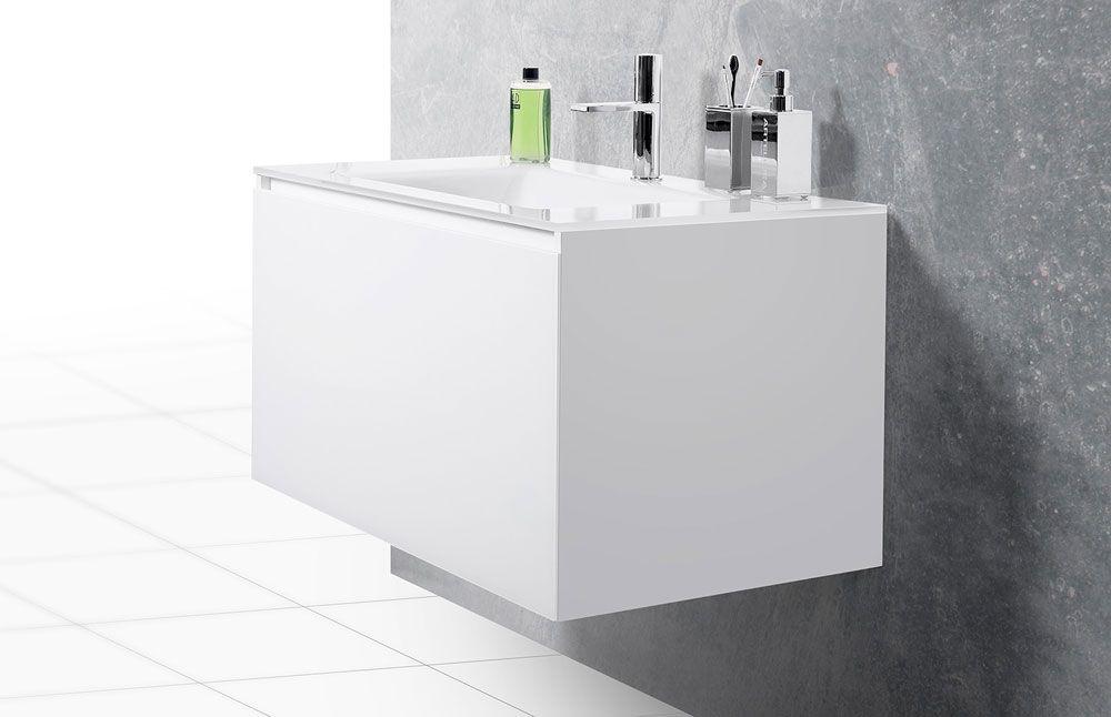 Artelinea Bagno ~ Artelinea domino wall hung basin vanity unit idee bagno