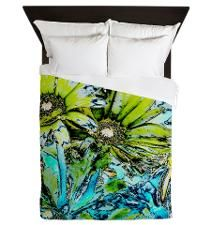 Reality Beckons Spring Queen Duvet for