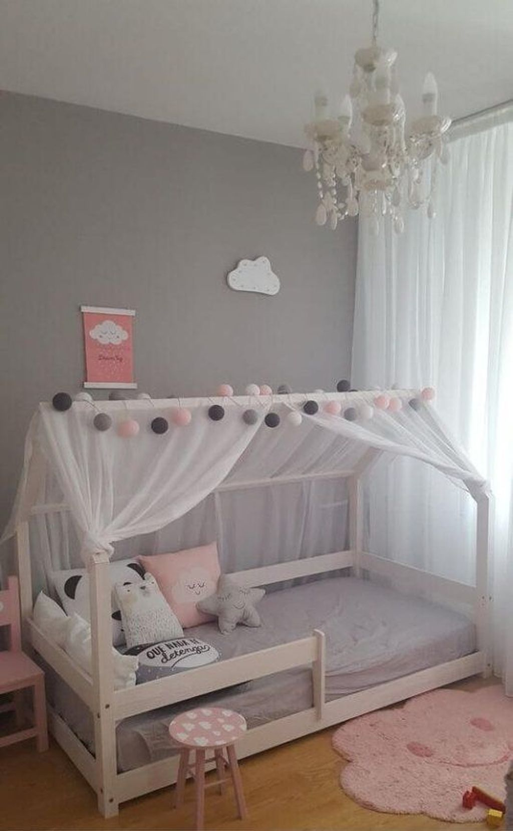 Cool 34 Charming Bedroom Décor Ideas For Baby Girl More At Https Homyfeed Com 2019 05 15 Mädchen Schlafzimmer Ideen Kinderschlafzimmer Schlafzimmer Mädchen