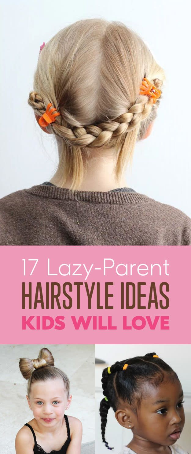 cute and easy hairstyles for kids chloe crafts pinterest