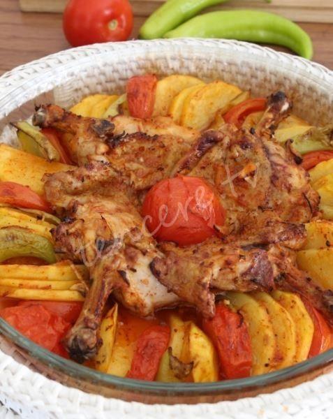 Fırında Tavuk Pirzola Tarifi - Beyaz Et Yemekleri