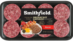 1.00 off Smithfield Fresh Breakfast Sausage Coupon
