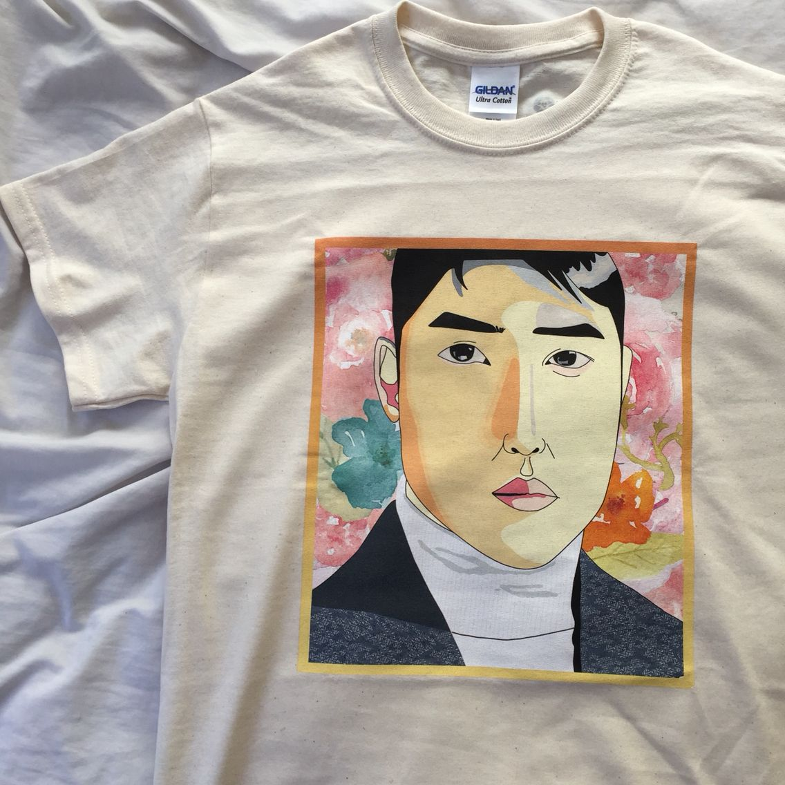 Kyungsoodo From Exo Design This Is A Sample T Shirt If You Are
