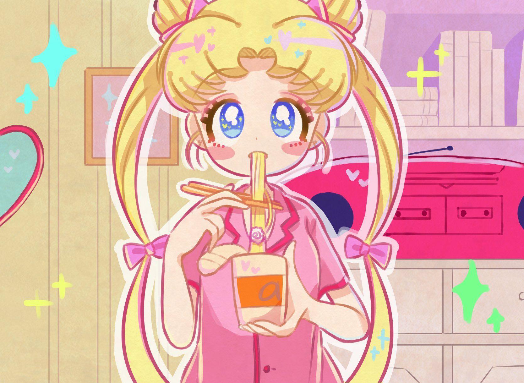あにゃぱんぱか on Twitter Sailor moon art, Princess serenity