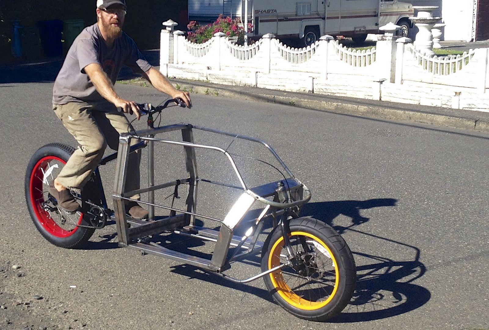 The Apocalypse Rider Transport Fahrrad Lastenfahrrad Und Fahrrad