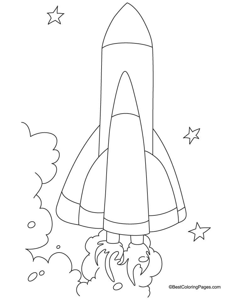spacecraft coloring page 5 download free spacecraft coloring page 5 for kids best coloring - Spaceship Coloring Pages Print
