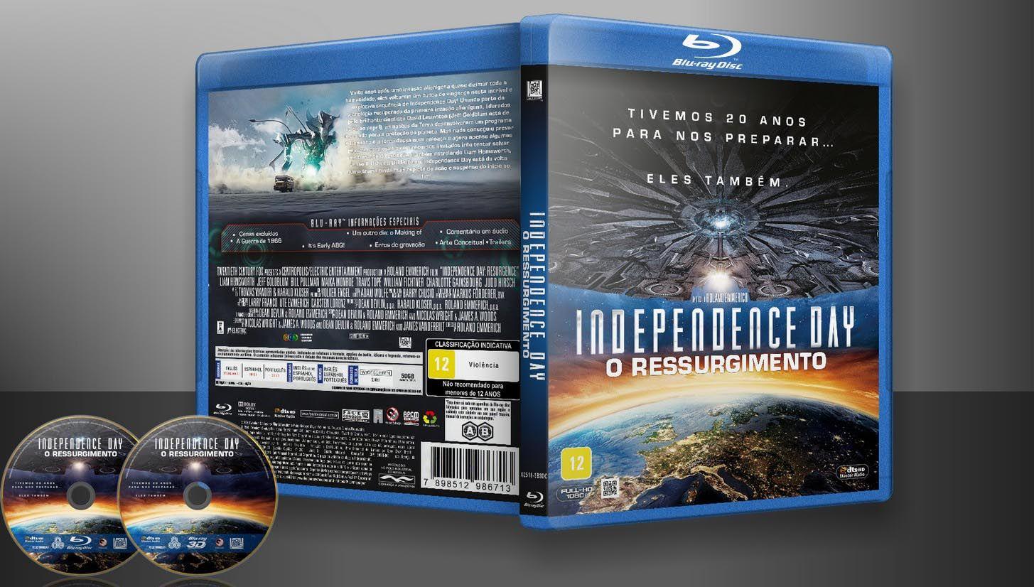 Independence Day O Ressurgimento Blu Ray 2d 3d Capa Vitrine Galeria De Capas Designer Covers Custom Capas Labels Customiz Cover Vitrine Capas