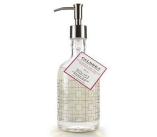 Rosewater Driftwood Glass Hand Soap By Caldrea Tyler Candles Home Fragrances Woodwick