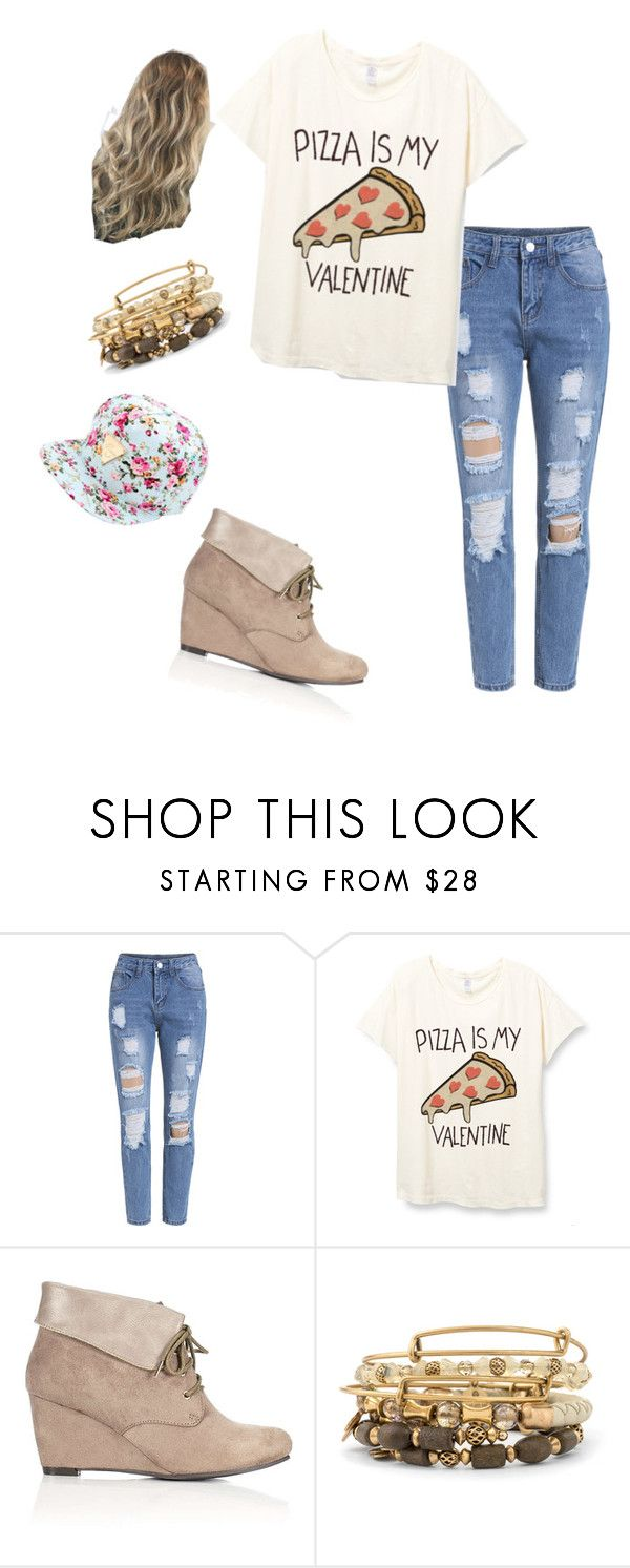 """""""My Valentine💖🎀"""" by srgrabman ❤ liked on Polyvore featuring Wallis and Alex and Ani"""