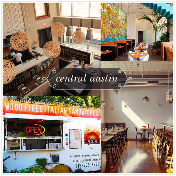 The Central Austin Restaurant guide gives you 6 places to check out when you're feeling the munchies