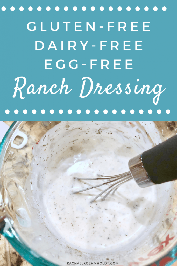Gluten-free Dairy-free Ranch Dressing Recipe