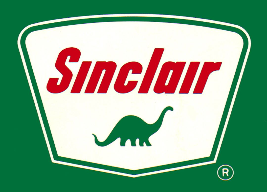 Sinclair Oil~ Dino the Dinosaur mascot | Vintage Gallery | Gas