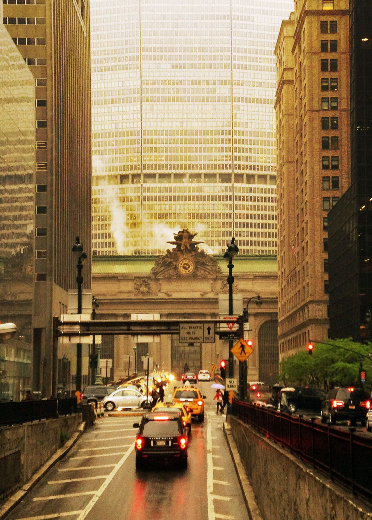 Park Avenue, Grand Central Station, NYC