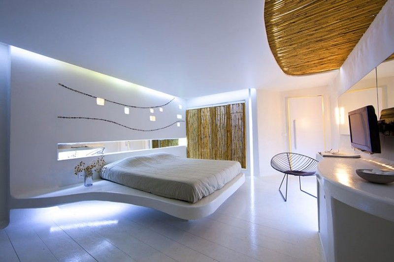 hotel andronikos cocoon suites by klab architecture - Beaded Inset Hotel Decoration