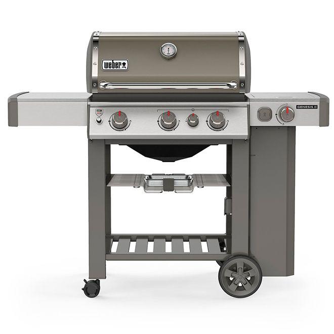 Weber Propane Gas Bbq Genesis E 330 Smoke Rona Propane Gas Grill Gas Bbq Grilling