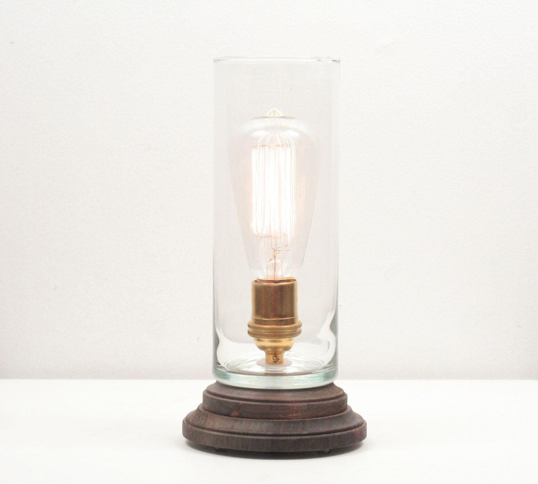 Hurricane Pedestal Lamp Iii Minimalist Table Lamp
