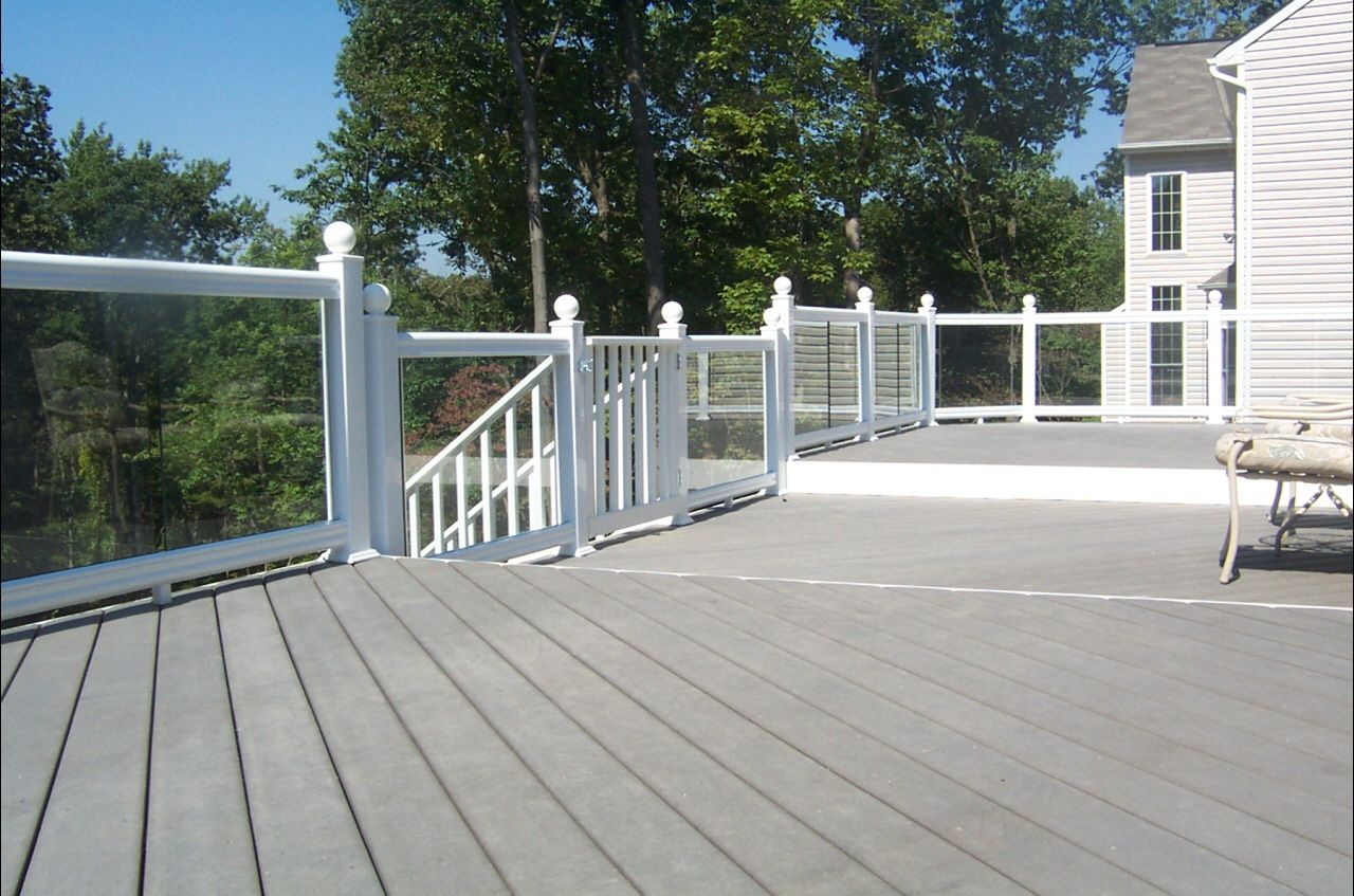 Glass railings for decks - Related Image
