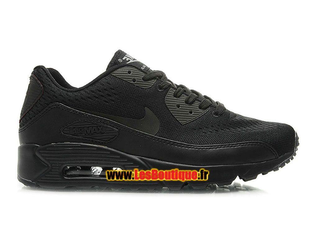 NikeiD Air Max 90 Ultra Mesh - Chaussures Nike Sportswear Pas Cher Pour Homme Noir/
