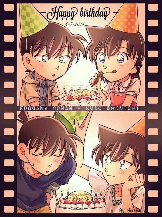 Happy Birthday!!!! By Hòa An Detective, Anime và Fiction