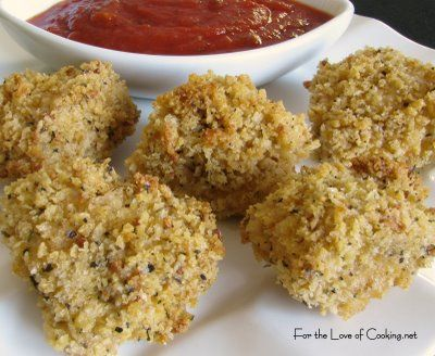 For the Love of Cooking » Italian Chicken Nuggets