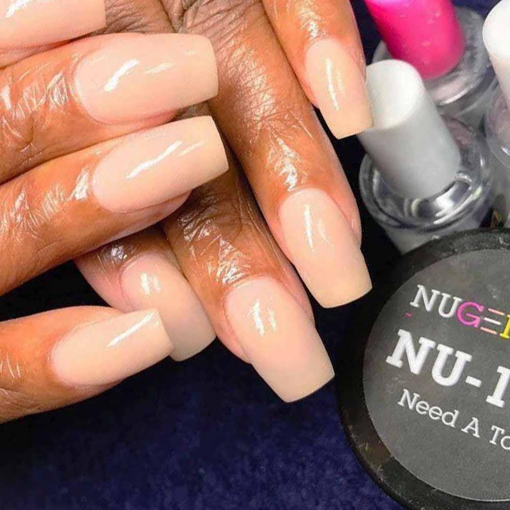 NU 123 Need A Tan   Nail dip   Pinterest   Tan nails