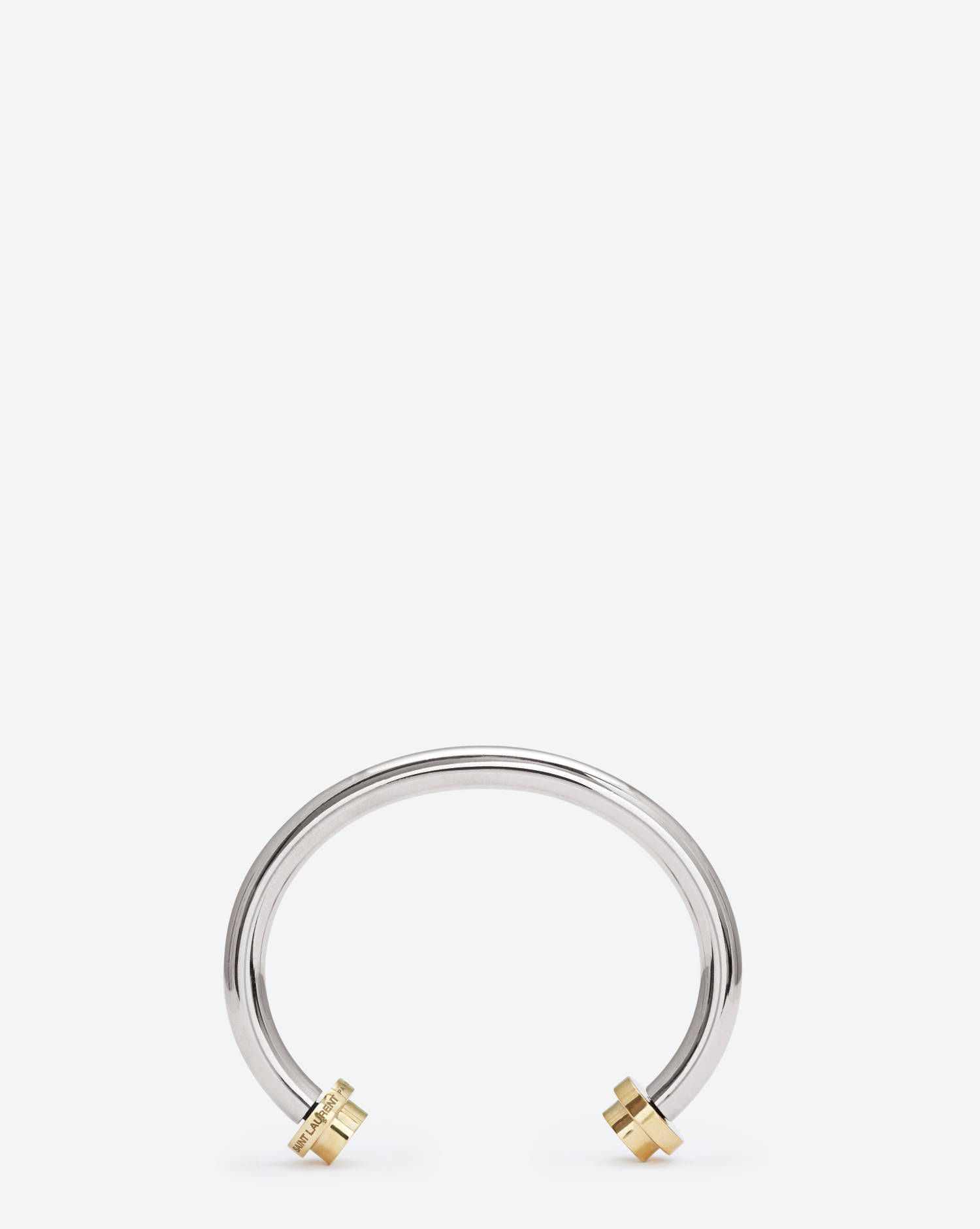 a25292ad3b911a Bangle, SAINT LAURENT PARIS | PROJECTION LIST | Metal bracelets ...