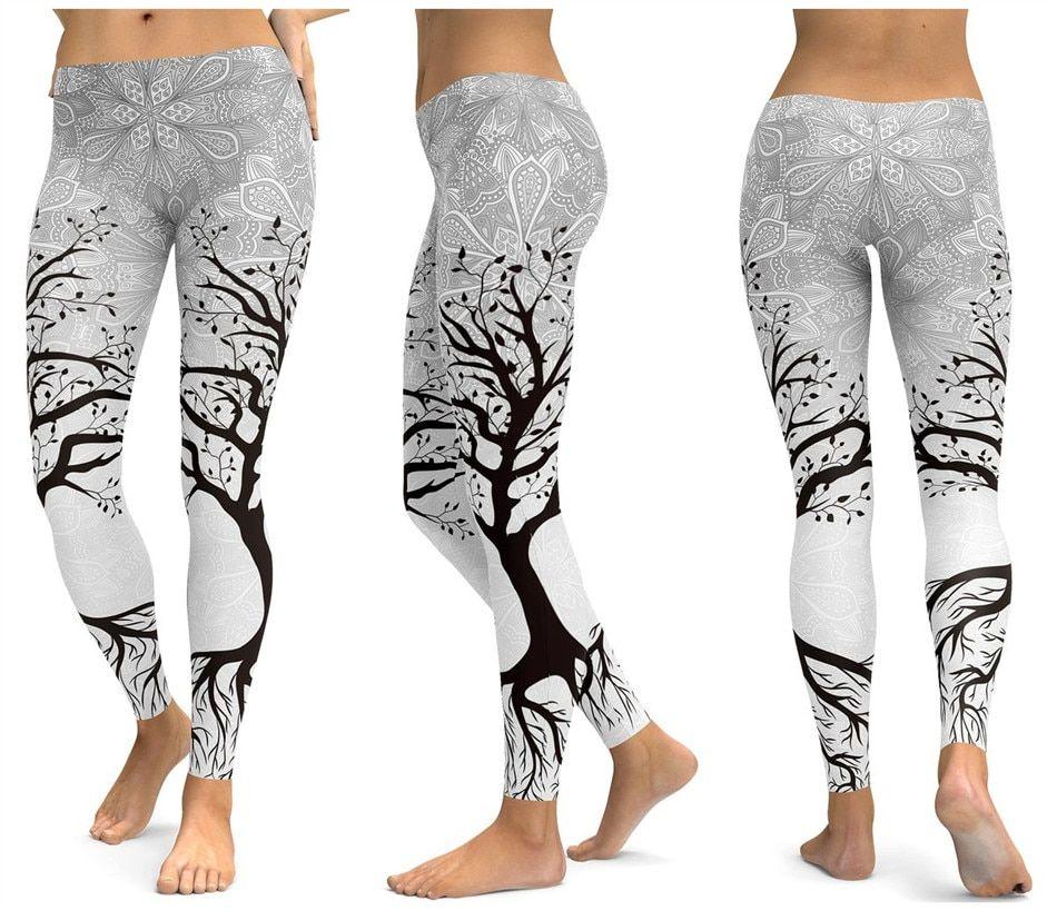 pretty cool super quality shop Assorted Print Leggings in 2019   Leggings   Yoga leggings ...