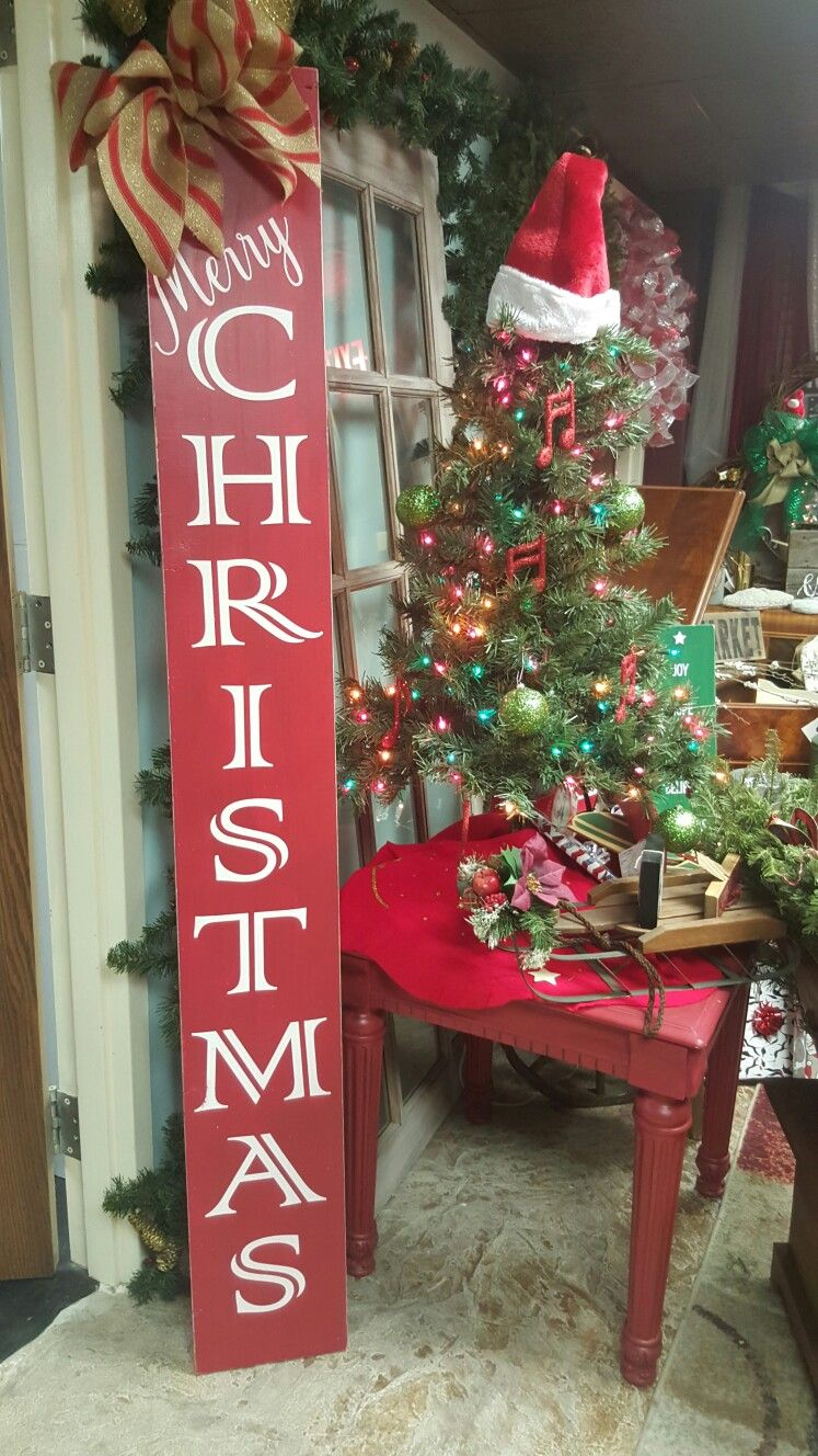 Porch Sign Christmas Signs Christmas Porch Christmas Wood