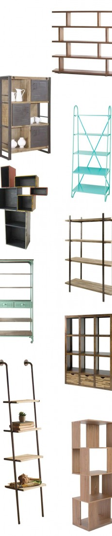 Modern Bookcases & Shelves | Up to 70% Off at dotandbo.com