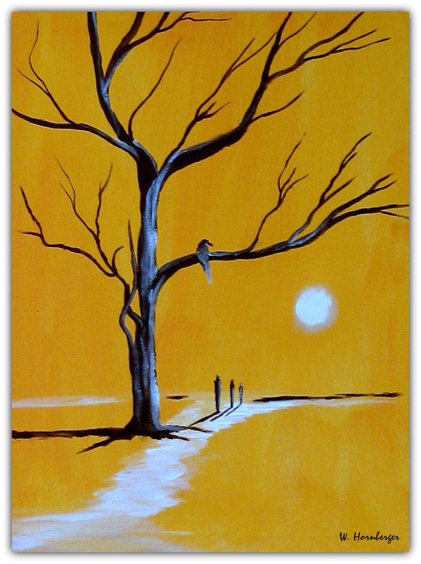 Acryl/Leinwand 30 cm x 40 cm x 1, 5 cm Preis über PN Niemandsland