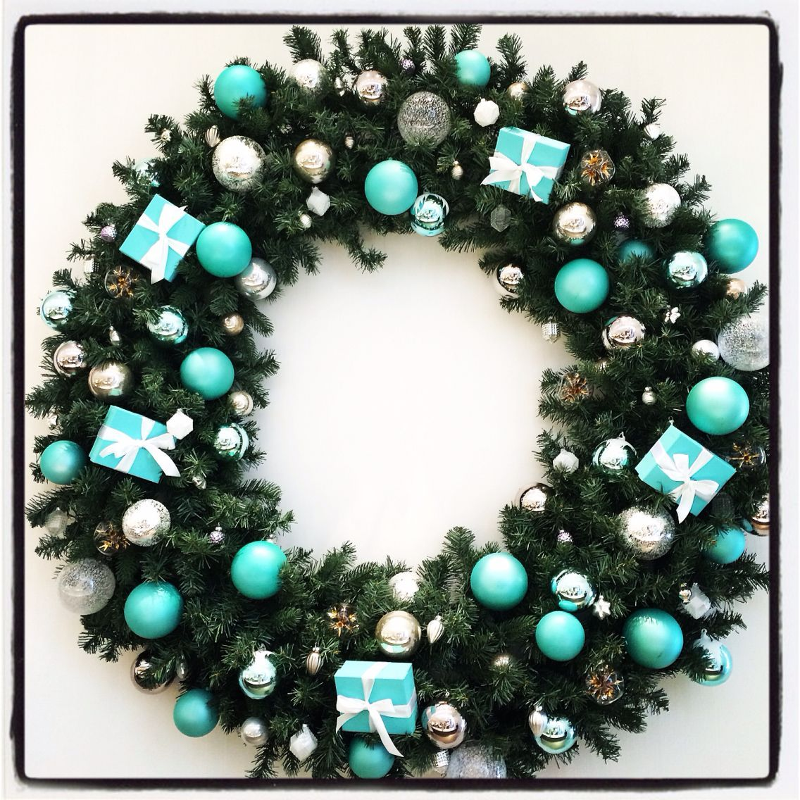 Christmas, Turquoise