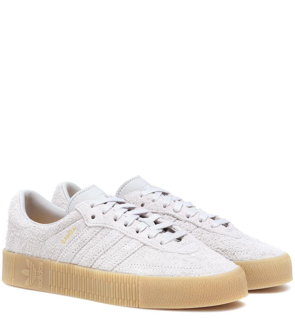 20f765df779621 adidas Samba Rose suede sneakers in 2019