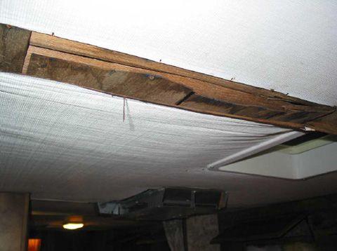 Rv Trailer Water Damage Repair Roof Repair Water Damage Repair