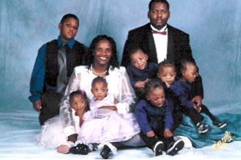 The Harris Family Includes Sextuplets America S First Recorded