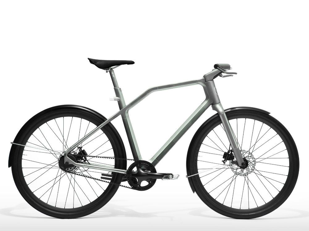 A Slick New Bike With Buzzing Handlebars That Give You Directions