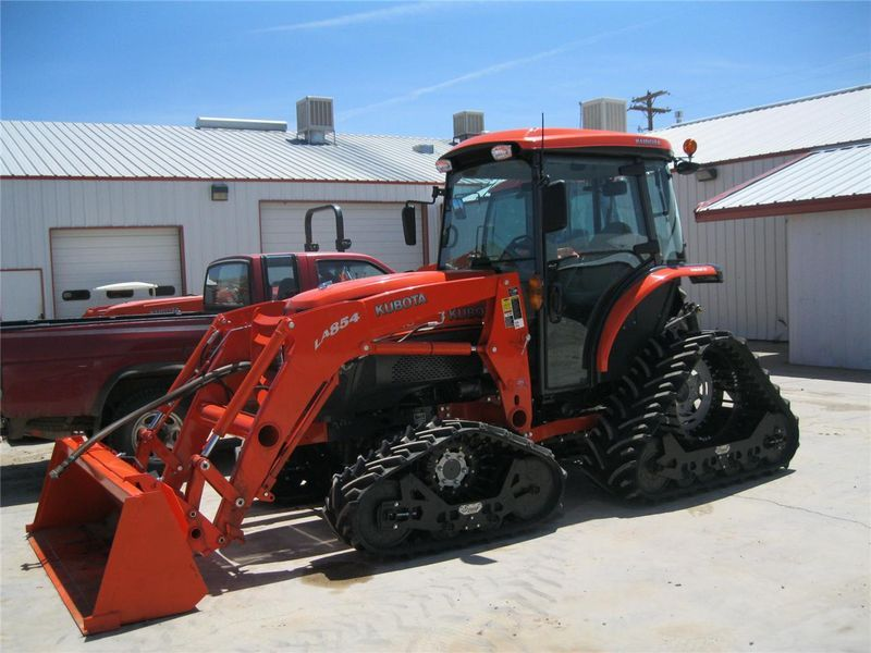 Kubota With Tracks Tractors Pinterest Tractor