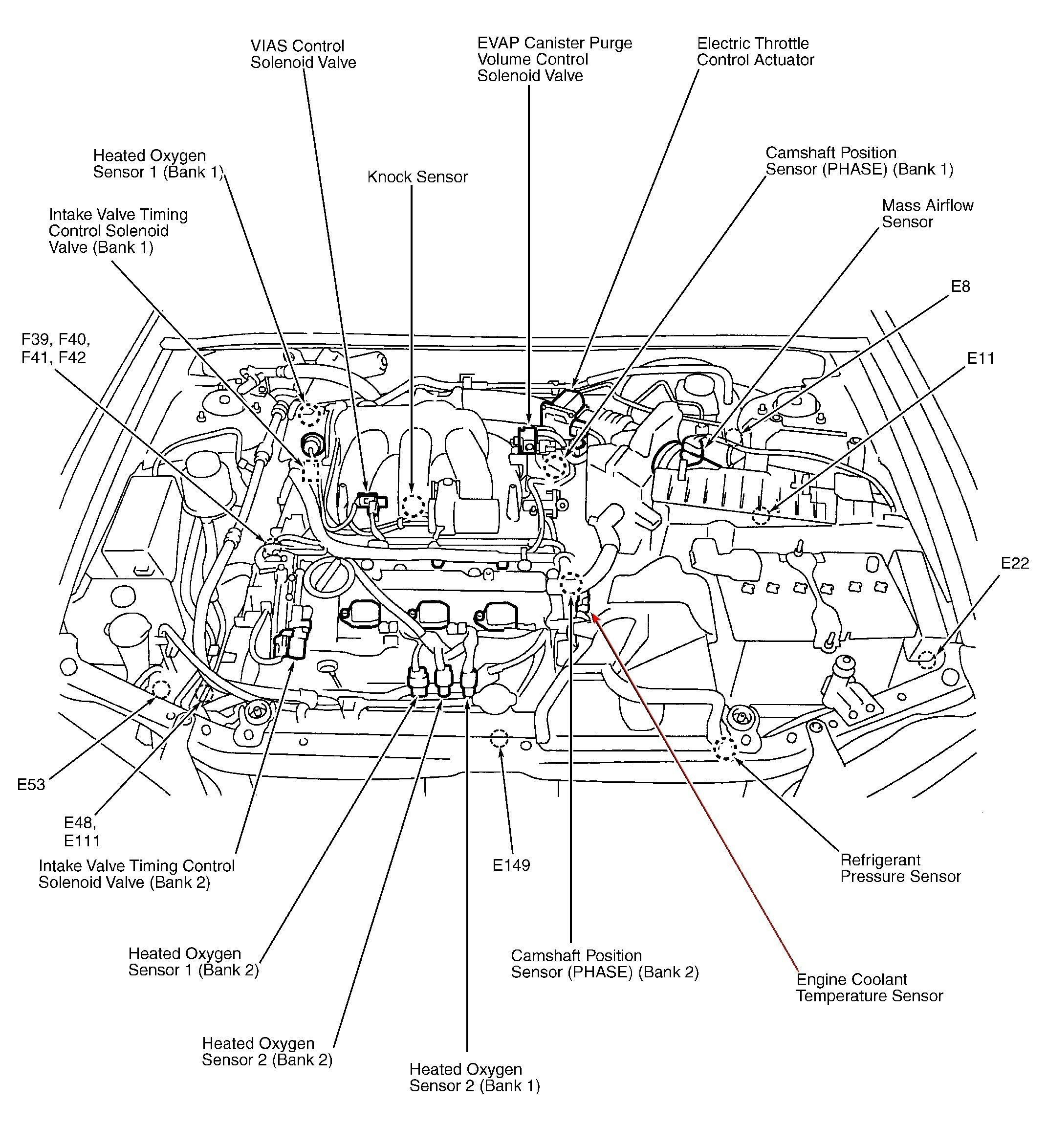 1997 nissan pathfinder engine diagram wiring diagram query