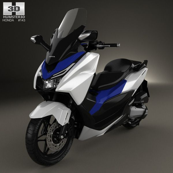 honda forza 125 2015 3d model from honda 3d models honda cars honda motorcycles. Black Bedroom Furniture Sets. Home Design Ideas