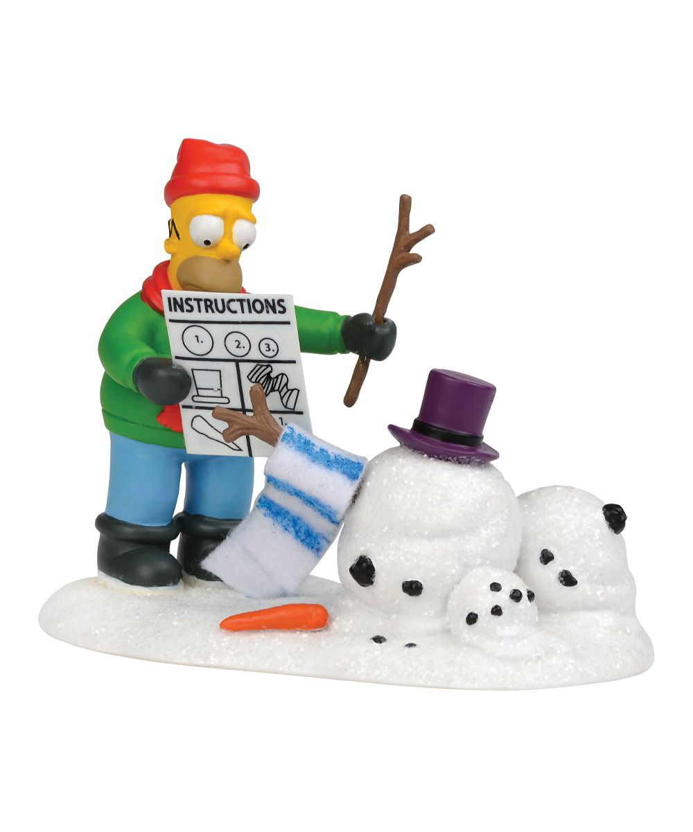 Image result for department 56 homer figurine
