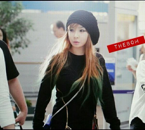 Park Bom 2ne1 Kpop Idol Airport Fashion Pinterest Park Bom