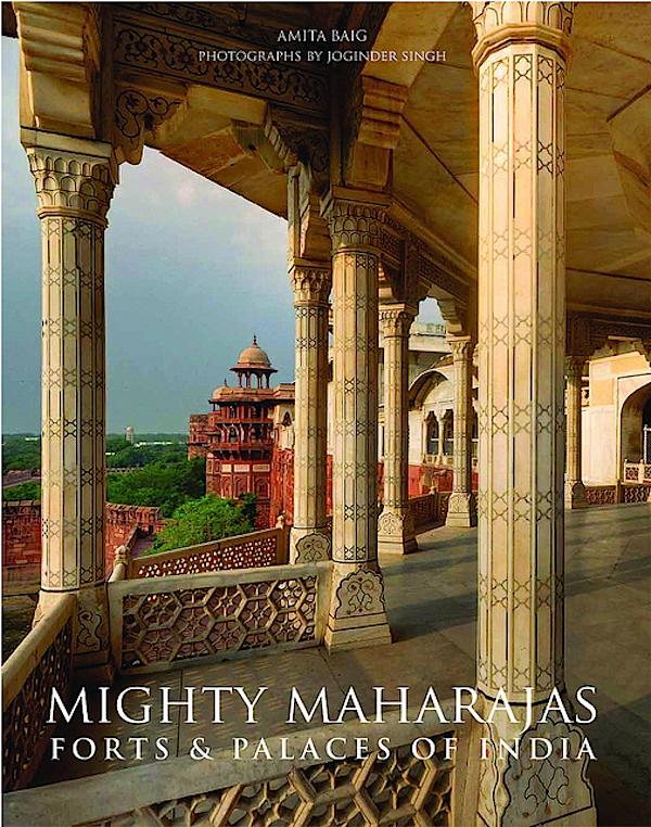 Poderoso capa do livro Maharajahs