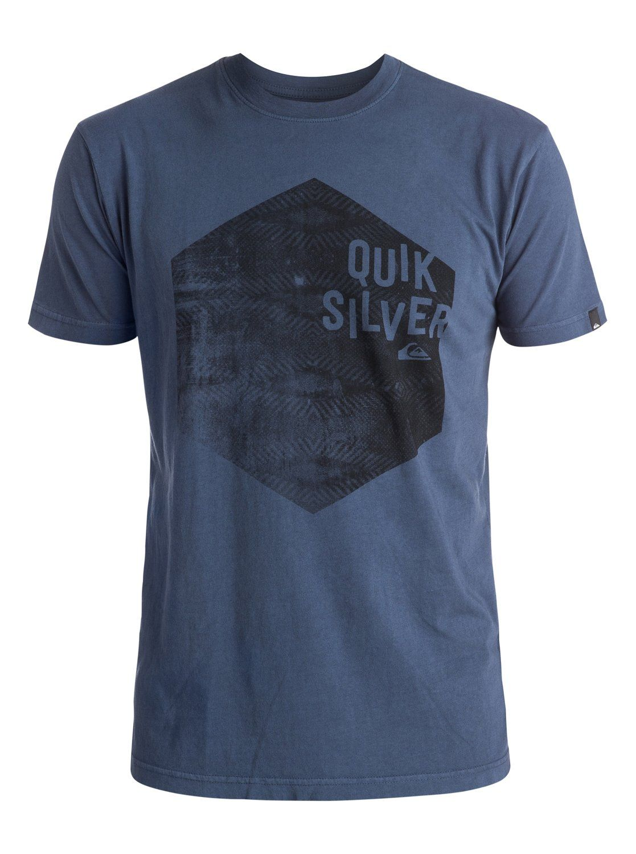 quiksilver, Jumbled Hex Tee, NIGHTSHADOW BLUE (bpt0)
