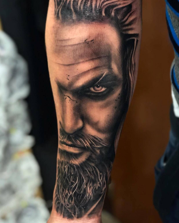Aquaman Tattoo Design: Aquaman Tattoo By Cristian. Limited Availability At