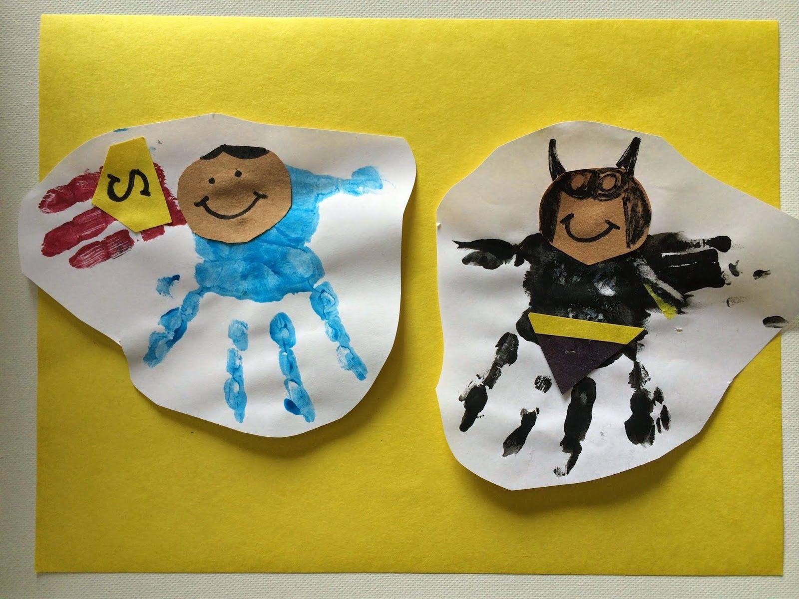 5 Superhero Crafts for Kids - The Chirping Moms #superherocrafts