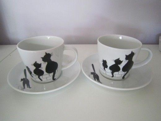 lin van porcelaines caf et th services tasses caf. Black Bedroom Furniture Sets. Home Design Ideas