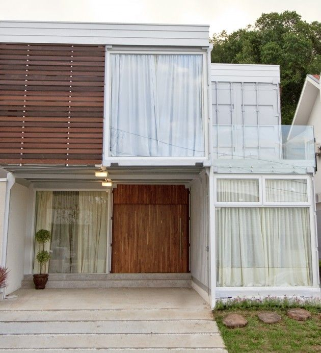 Building Container Homes Cost: Shipping Container Homes: 6x 40 FT Shipping Container Home
