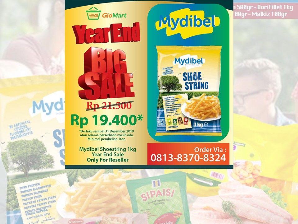 Supplier French Fries Makanan Beku Pengiriman Makanan Kentang