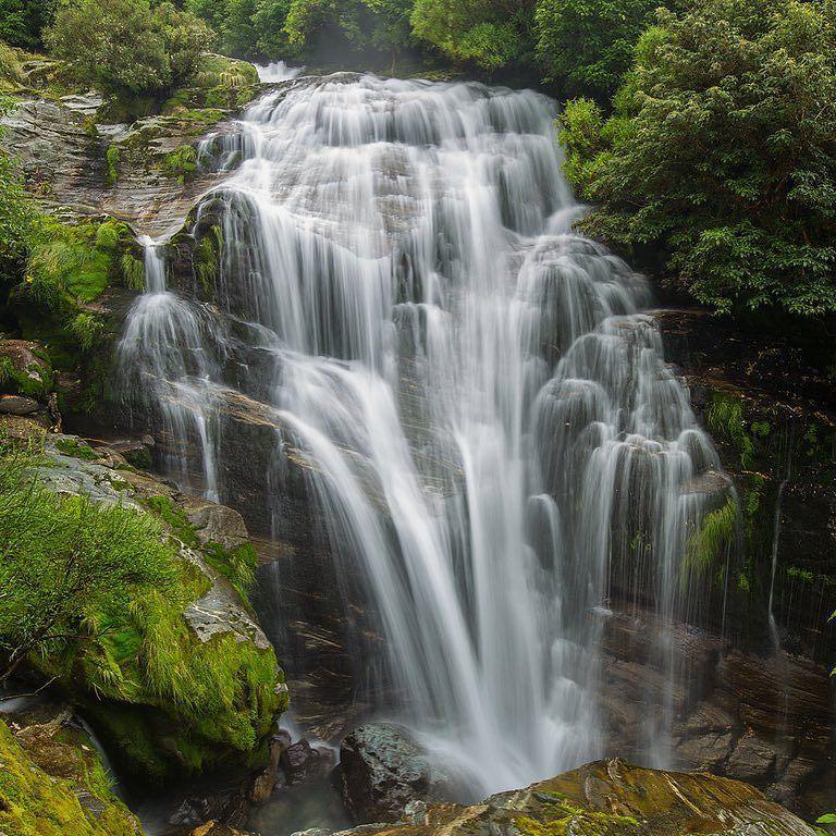 Anderson Cascade Fiordland National Park New Zealand @vincestagrammed by nakedplanet