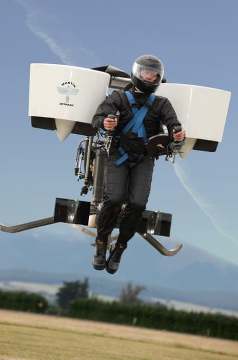 Martin Aircraft New Zealand release the world's first commercially available jetpack.