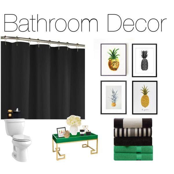 """""""Kate Spade Inspired Bathroom"""" By Megancox"""